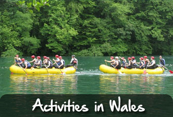 activity trips in wales