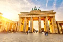 school trip at Berlin