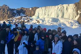 school trip at Iceland School Trip KS3-KS5