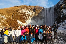 Iceland School Trip KS3-KS5 photograph