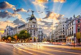 school trip at Madrid