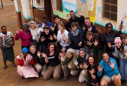 School Group Volunteering in Africa