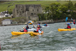 school trip at Carlingford Adventures