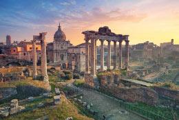 school trip at Rome