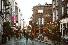school trip at English in Dublin
