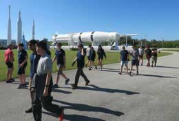 STEM trip to NASA, Florida, USA photograph