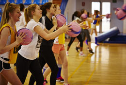 Netball Tours with Equity photograph