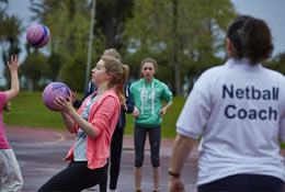 school trip at Netball Tours with Equity