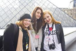 French Language School Trips with Equity school groups