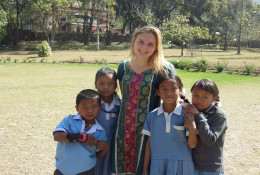 Trekking and community work in Nepal