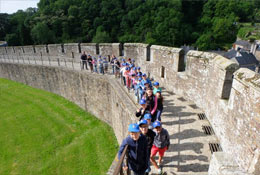 school trip at A History and Culture trip to Chateau Beaumont
