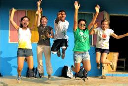 school trip at Care Volunteering in Ghana