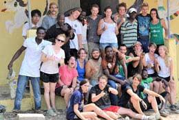 Care Volunteering in Ghana school groups