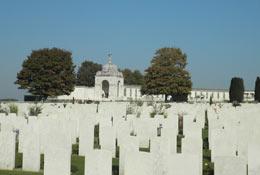 school trip at WW1 Battlefields