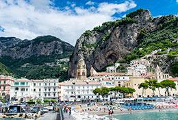 school trip at Sorrento and Amalfi Coast Geography