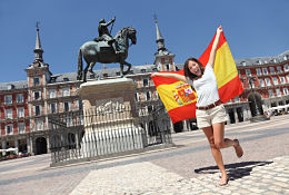 school trip at Language and Culture trips to Spain with Equity