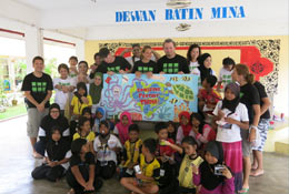 Conservation and community projects in Malaysia