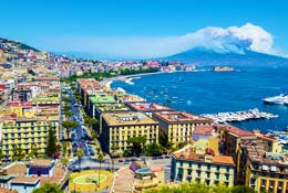 School trips to the Bay of Naples photograph