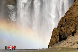 school trip at Iceland for University Groups