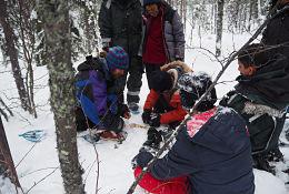 Sweden Arctic Service, Husky Camp Programme