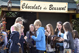 Chateau du Broutel school groups