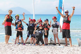 school trip at Greek Watersports Adventure