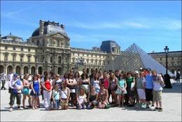 school trip at France School Trip