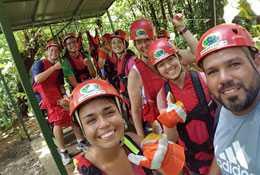 school trip at Summer Camp in Costa Rica