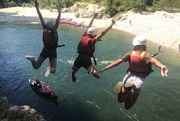 Ardeche Adventure school groups