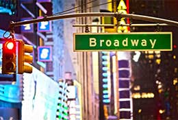 Equity Performing Arts trip to New York school groups