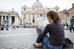 school trip at Rome - University trip