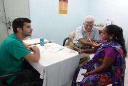 school tours Pre-med experience in India