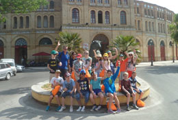 school trip at Spanish Language in Andalucía