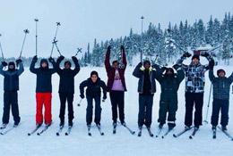 Sweden Winter Ski Adventure school groups