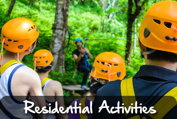 residential activity trips