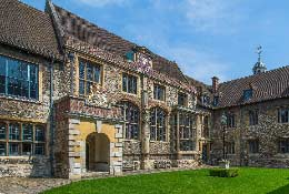 school trip at Tudors at the Charterhouse