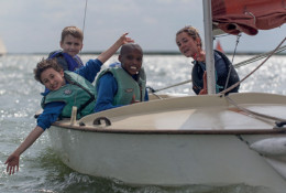 school trip at Fellowship Afloat Charitable Trust