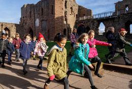 Goodrich Castle school groups