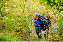 school trip at Hindleap Warren