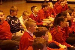 school trip at All Hail Macbeth