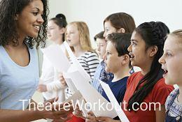 school trip at West End Workshops