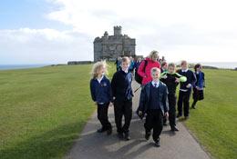 Pendennis Castle school groups