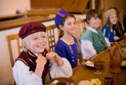 school trip at Ufton Court Tudors