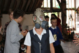 school trip at WW2