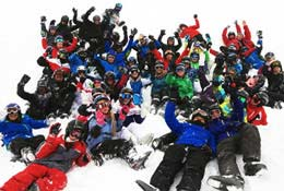 school trip at Ski Adaptable