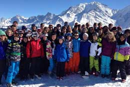Ski Adaptable school groups