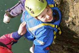 school trip at Conway Centres Anglesey
