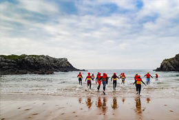 school trip at Anglesey Outdoors