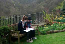 Arvon – Lumb Bank, Yorkshire school groups