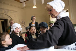 school trip at Audley End
